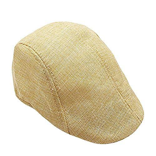 Voberry Sun Hats for Women,Men Summer Visor Hat Sunhat Mesh Running Sport Casual Breathable Beret Flat Cap
