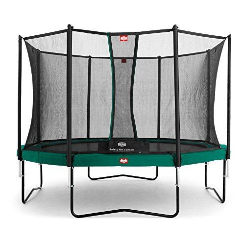BERG Mountain 35.44.05.00 Champion 430 Trampolino con Rete di Sicurezza Comfort