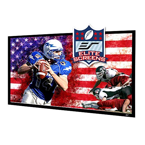 Elite Screens Star Frame Series, 135-INCH 16:9, Fixed Frame Home Movie Theater Projector/Projection Screen, 8K / 4K Ultra HD 3D Ready, SF135HW2