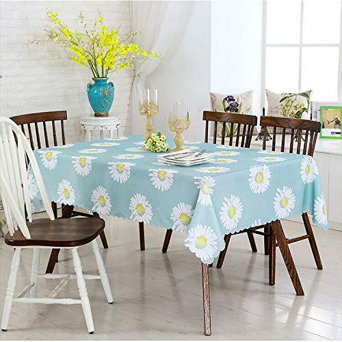 HEZESHOP Tischdecke kann gewaschen Werden Dekorative Tischdecke Tischdecke Rechteckige Tischdecke Tischdecke Kamin Arbeitsplatte 110X160CM