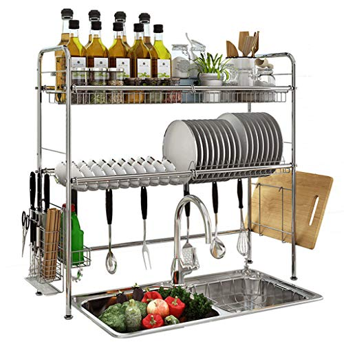 Over Sink Dish Drainer / Kitchen Utensils Holder Now $49.80 (Was $165.99)