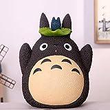 HUANXI Dibujos Animados creativos Totoro Hucha mi Vecino Totoro Adornos para Chico Regalo de cumpleaños de Navidad Lindos Juguetes Miyazaki Totoro,02