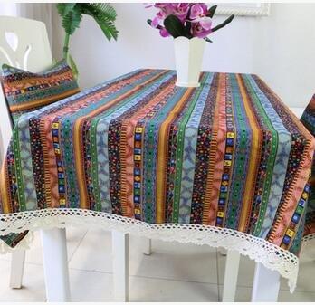 BLUELSS Nappes rectangulaires Vintage Dentelle, Tapis de Table Table à Manger 24 Couvrir nappes Café avec Dessin de Fleurs,Green,120 * 120cm