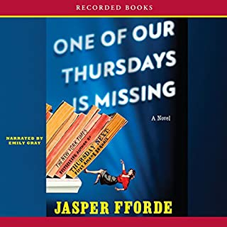 One of Our Thursdays is Missing audiobook cover art