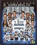 2019 Super Bowl 53 Champion New England Patriots...