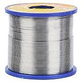 Filo per saldatura, 2% Flusso di filo di stagno 60/40 Filo di saldatura Premium Bobina di saldatura Nucleo di rame 0,6~1 mm(0,8 millimetri)