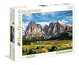 Clementoni-39414 Puzzle 1000 Piezas La Cima de los Alpes, Multicolor (39414.2)