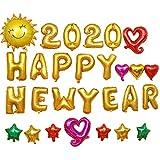 Silvester 2020 Party Deko Set Neujahr Silvesterdeko Ballons Dekoration -