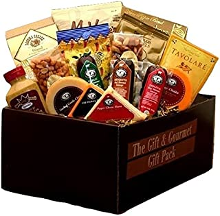 Cheese & Meat Gift & Gourmet Gift Pack for Her - Makes the Perfect Mothers Day Gift
