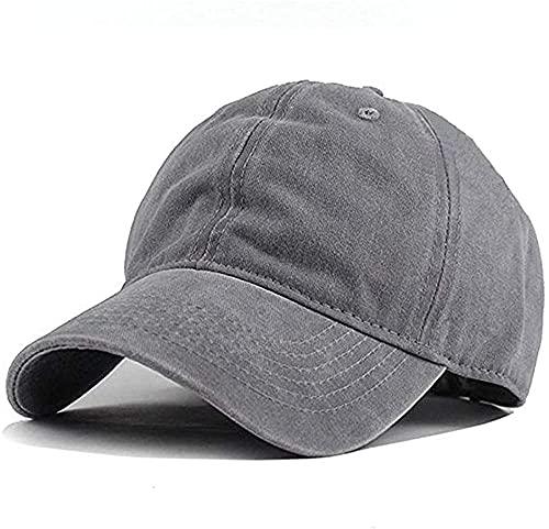 Wennmole Unisex Jungen Mädchen Mütze Baseball Cap Hut Baby Kleinkind Kinder Kappe (grau, 2-7 Jahre)