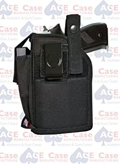Ace Case Holster W/MAG Pouch for CZ 75, 85, SP-01 W/Laser OR Light Mounted - Made in U.S.A.