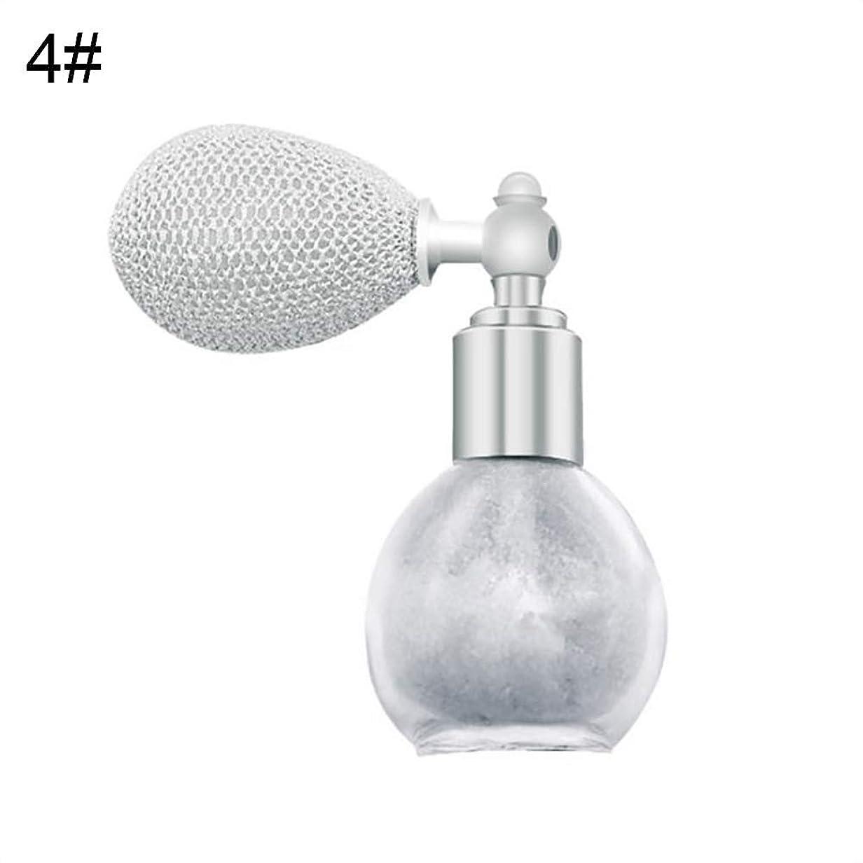 区別タフ協同FANA女性美容エアバッグスプレーフレグランスグリッターハイライトパウダー化粧品 - 4#
