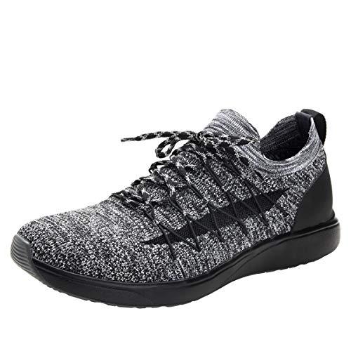 TRAQ BY ALEGRIA Synq Mens Smart Walking Shoe Black 12 M US