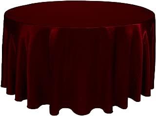 Best burgundy table linens Reviews