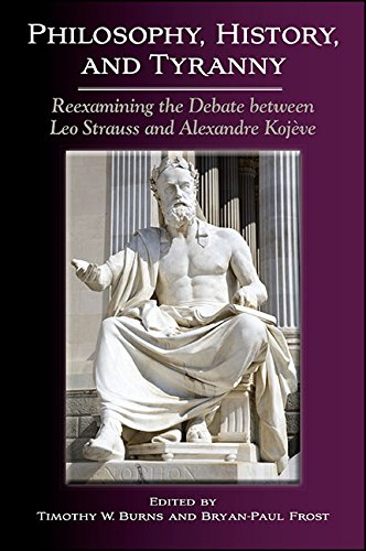 Philosophy, History, and Tyranny: Reexamining the Debate between Leo Strauss and Alexandre Kojeve (SUNY series in the Thought and Legacy of Leo Strauss) (English Edition)
