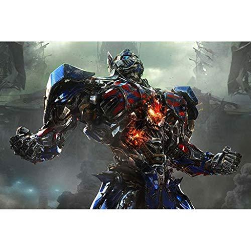 puzzles Optimus Prime Transformers Niños 1000 Piezas Juguetes Educativos De Madera De Descompresión para Adultos(Color:C)