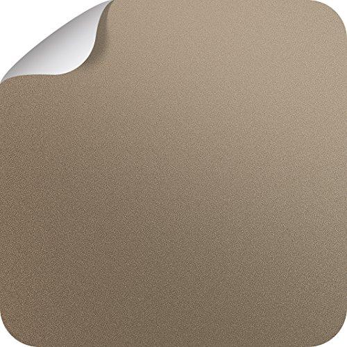 TECOSMART Selbstklebende Möbelfolie - Sand Metallic - 620mmx2300mm (EUR 19,64/m²)