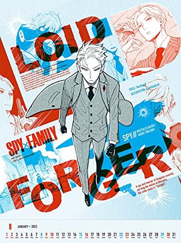 『SPY×FAMILY』 コミックカレンダー 2022 _0