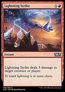 Magic: the Gathering - Lightning Strike (155/269) - Magic 2015