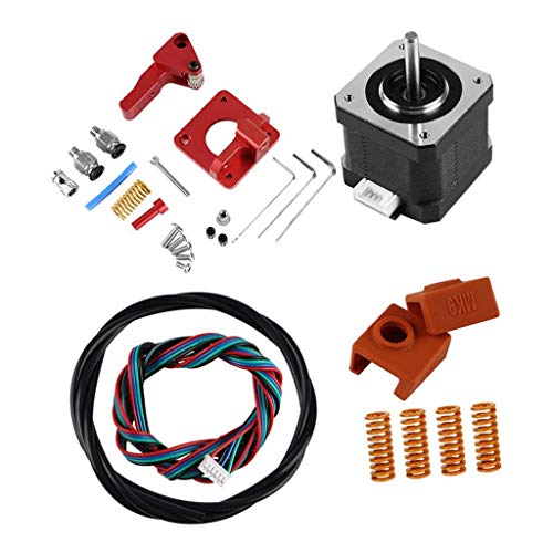 DONDOW Impresora 3D Kit de Doble Engranaje extrusora de Aluminio, Doble Extrusora Drive Compatible with Ender-3, Ender-3 Pro