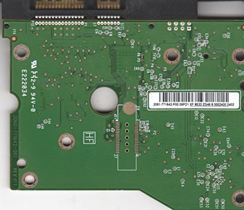 WD2002FYPS-12U1B1, 2061-771642-P00 09PD1, WD SATA 3.5 PCB