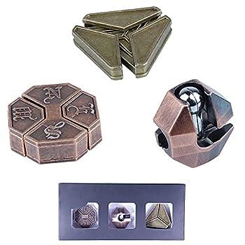 Brain Teaser Puzzle 3D Unlock Interlocking Puzzle Metal Hole Lock Adult Educational Toy Puzzle IQ Puzzle