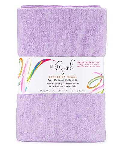 Curly Girl, Extra Large, Microfiber Hair Towel for Curly Hair, Large 44