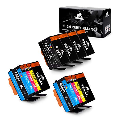 IKONG Compatible Ink Cartridge Replacement for 934xl 935xl Ink Cartridges(New Updated Chips) Works with Officejet Pro 6830 6835 6230 6812 6815 6820 6220 Printers