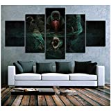 Pyke The Bloodharbor Ripper League of Legends Game Poster Artwork Canvas Paintings for Home Decor Wall Art -40x60x2 40x80x2 40x100cm Sin marco