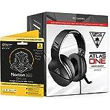 Turtle Beach Atlas One - Auriculares para videojuegos (PC/XB1/PS4) + Norton 360 Deluxe 3 dispositivos Gamer Edition