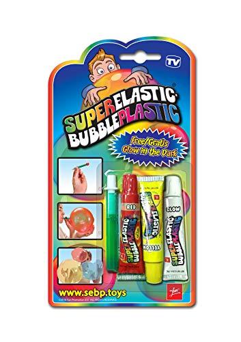 Fun Promotion FUN-SEBP-CDU-EU Le tube de ballons SuperElasticBubblePlastic, deux couleurs.