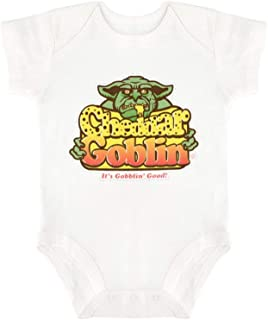 Cheddar Goblin Happy Baby, Baby Sleeveless Cotton Tights, Cute Print Design.