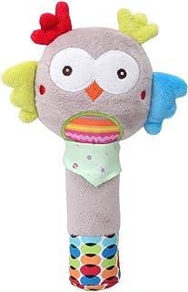 Kidoll Baby Stroller Lathe Hanging Toys Animal Rattle Crib Teethers Stuffed Doll Hanging Ring Soft Plush Baby Toys