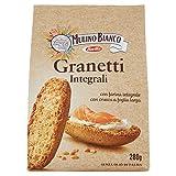 Mulino Bianco Crostini Granetti Integrali, Snack Salato per la Merenda, 280g