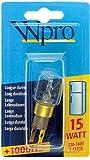 Wpro LRT009 - Lámpara (15W, 1000h, Transparente, 230 - 240V)