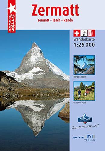 Wanderkarte Zermatt
