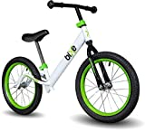 Green Pro Balance Bike for Big Kids and Kids with Special Needs - 16' No Pedal Glide Training Bicycle for Children Ages...