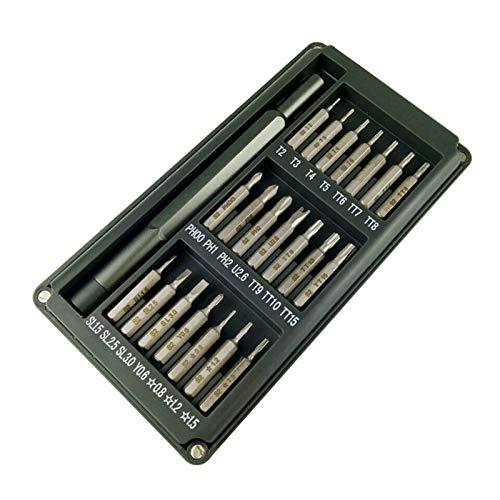 GYY 22 unids Precision Manual Aleación de Aluminio Destornillador Star Precision Set Magnético Portátil Multifunción