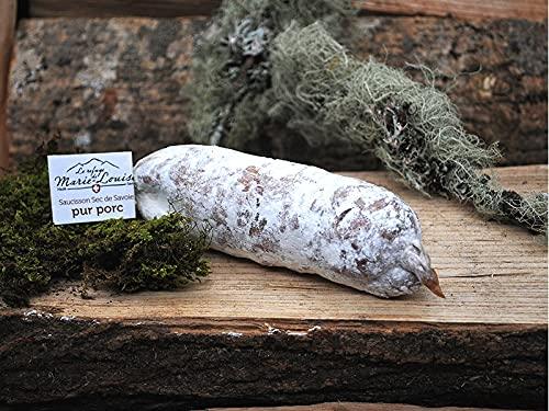 Salchichón de Queso Beaufort de Saboya - Saucisson Gourmet de Queso y Cerdo Beaufort de los Alpes Franceses - Salchichón de salami premium - Compre 1 = 1 Gratis - 1 + 1x 170g