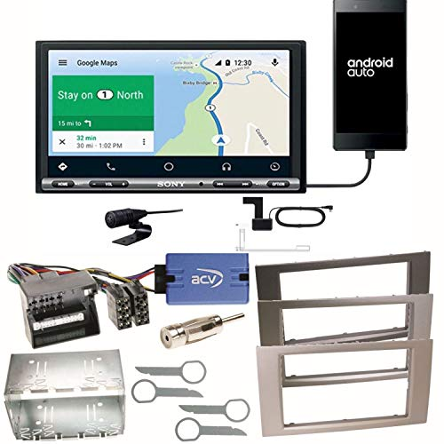Sony XAV-AX3005DB CarPlay Android Auto Digitale Radio DAB+ USB Autoradio Touchscreen Bluetooth Moniceiver Kit di montaggio per Ford Focus C-Max Fiesta Transit