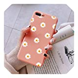 Phone Accessories Cases, TPU Chrysanthemum Matte Cover For