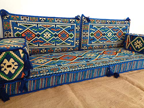 bench cushions,floor seating,floor cushions,arabic seating,arabic cushions,floor sofa,oriental seating,furniture,majlis,jalsa,floor couch,arabic couch - MA 42