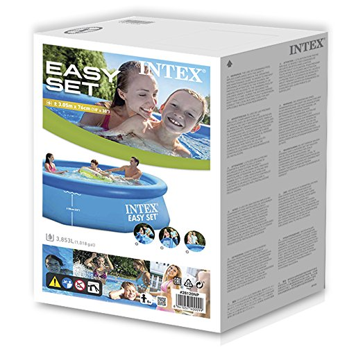 What users are saying about Intex Easy Set up 10 Foot x 30 Inch Pool