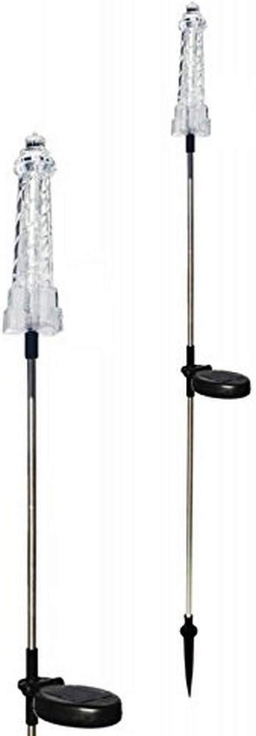 Tricod E2177 Solar Lighthouse Garden Ranking TOP9 Color Light Stake Change M online shop
