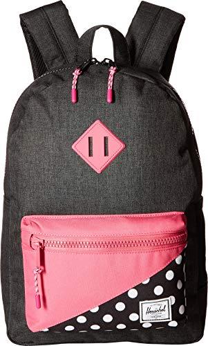 Herschel Heritage Rucksack, Schwarz gepunktet / gepunktet / Fandango Pink (mehrfarbig) - 10312-02205-OS