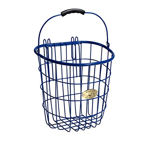 Buoy /& Gull Collection Childrens D-Shape Basket Royal Blue Cycle Force Group N//013//C Nantucket Bicycle Basket Co