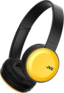 JVC HA S30BT Y E Bluetooth On Ear Kopfhörer mit kompakter Bauweise, gelb