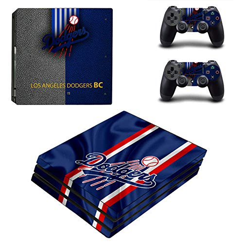 Playstation 4 Pro Skin Set  Baseball Team Profesional - HD Printing Vinyl Skin Cover Protective for PS4 Pro Console and 2 PS4 Controller by BALAKRISHNA THAKUR.