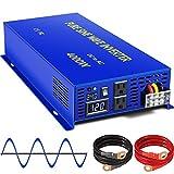 XYZ INVT 4000W Pure Sine Wave Inverter 24V to 110V 120V AC Car Power Inverter Peak Power 8000W with...