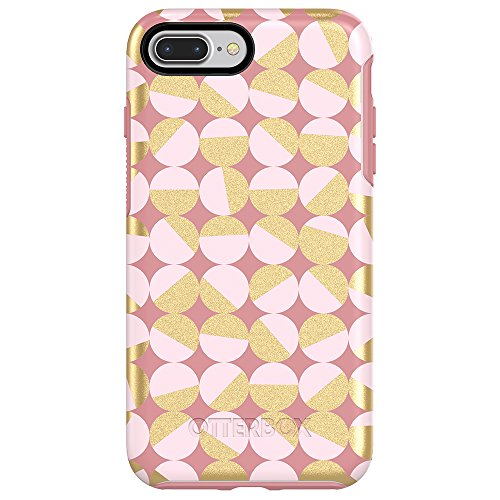 OtterBox SYMMETRY SERIES Case for iPhone 8 Plus & iPhone 7 Plus (ONLY) - Retail Packaging - MOD ABOUT YOU (PALE BEIGE/BLUSH/MOD DOTS)
